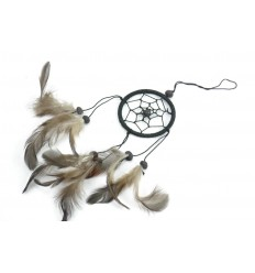 Dreamcatcher black - ideal rear-view mirror !