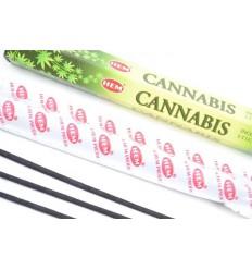 Incense fragrance Cannabis. Lot of 100 sticks brand HEM