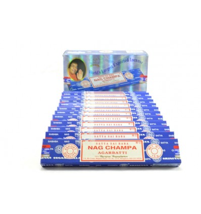Incenso Nag Champa. Pack economica 12x15gr. circa 140 bastoni. mark Satya Sai Baba
