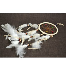 Giant dream catcher / catcher-nightmare 45x12cm - White