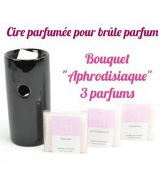 """Pastilles de cire parfumée. Bouquet """"Aphrodisiaque"""" 3 parfums - Drake"""