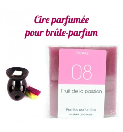 "Lozenges of scented wax, fragrance ""passion Fruit"" by Drake"