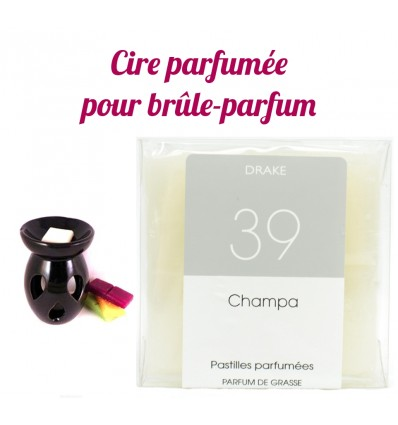 "Lozenges of scented wax, scent ""Champa"" by Drake"