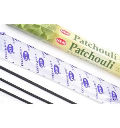 Encens Patchouli. Lot de 100 bâtonnets Marque HEM