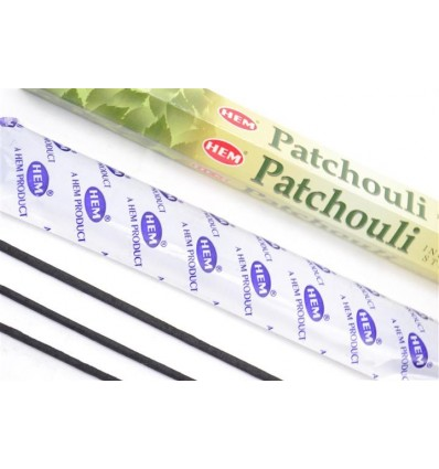 Incense Patchouli. Lot of 100 sticks Brand HEM