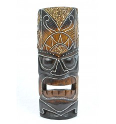 Tiki mask h30cm wood. Handcrafted.