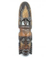 Maschera africana in legno 50cm modello Tartaruga. Fatti a mano.