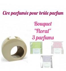 """Pastilles de cire parfumée, Bouquet """"Floral"""" 3 parfums - Drake"""