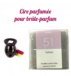 "Lozenges of scented wax, fragrance ""Vetiver"" by Drake"