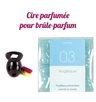 """Pastilles de cire parfumée, senteur """"Angélique"""" par Drake"""
