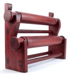 Bracciali e orologi per porte in legno rosso, deposito per orologi originali economici.