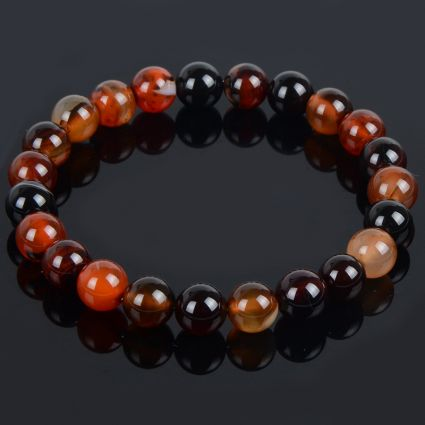 Bracelet Lithotherapie in Dream Agate natural Vitality and fitness.