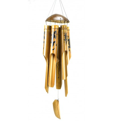 achat carillon vent bambou artisanal pas cher pour ext rieur. Black Bedroom Furniture Sets. Home Design Ideas
