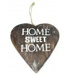 Piastra porta in cuore in legno vecchio, legno, casa dolce casa.