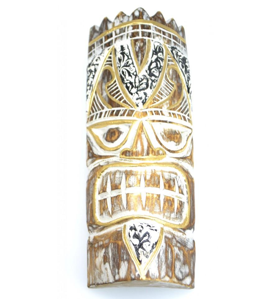 Maschera originale parete arredamento etnico polinesia for Arredamento tiki