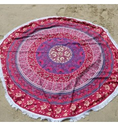 Beach towel round-Carpet-relaxation wall Hanging 150cm Hippie chic