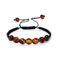 Shamballa Bracelet tiger Eye : free delivery !!!