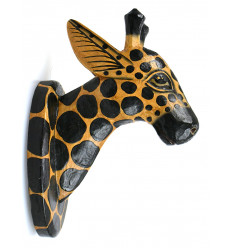 d coration girafe statues statuettes et sculptures coco papaya. Black Bedroom Furniture Sets. Home Design Ideas