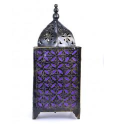 Lampe marocaine fer forgé pas cher. Décoration chambre orientale.