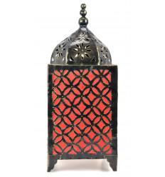 Lampe de salon marocaine en fer forgé. Artisanat marocain pas cher.