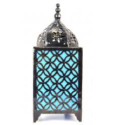 Lampada atmosfera orientale, del ferro battuto e del turchese-blu, acquista a buon mercato.