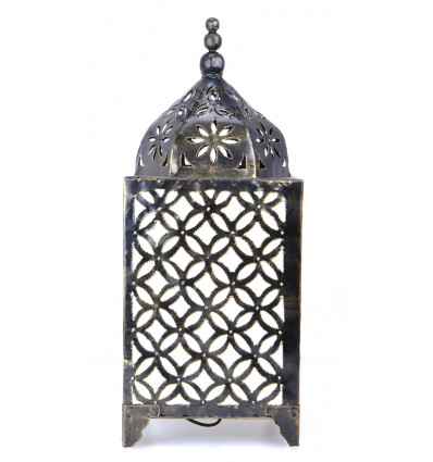 Lamp oriental home of the world. Traditional decoration moroccan.