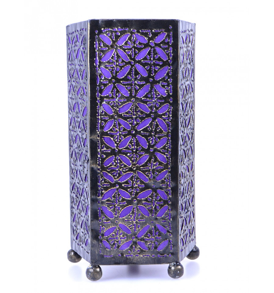lampe de chevet orientale en fer forg pas cher chambre marocaine. Black Bedroom Furniture Sets. Home Design Ideas