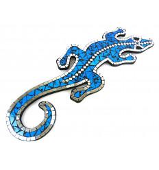 Salamandre murale décoration originale lézard gecko margouillat.