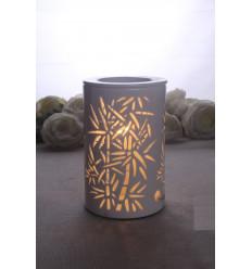 """Diffuseur à chaleur douce """"Calorya Bamboo"""" pour cires parfumées et huiles essentielles."""