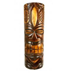 Great Statue - wood Totem Tiki H 50cm Deco Hawaiian