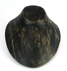 Buste de présentation - Présentoir à colliers en bois professionnel.
