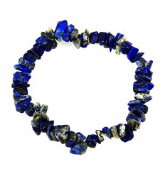 Bracelet baroque Lapis lazuli natural - the stone of friendship.