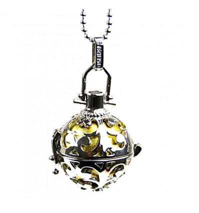 Achat pendentif bébé zen, bola de grossesse avec collier pas cher.