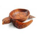 Objet déco tortue collection, rare original vide poche coupelle.