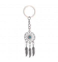Door-key dreamcatcher metal
