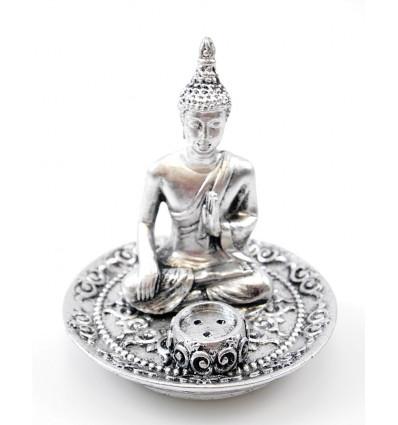 Porte encens bouddha, brule encens bouddha protecteur, original.