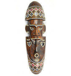 African mask cheap. Large wooden mask handcrafted hand made.