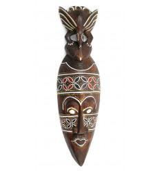 Maschera africana uccello di acquisto non costoso. Artigianato africano online.