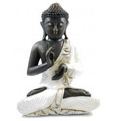 Statue Bouddha Boudha décoration jardin extérieur asiatique, pierre.