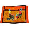 Tenture murale africaine, batik, paréo, drap de plage, textile déco.