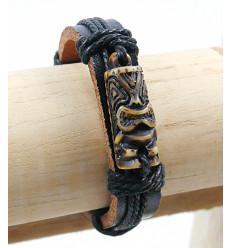 Bracelet tiki pour homme, bijou de plage tendance été pas cher.