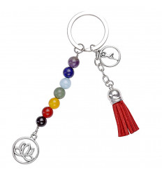 "Key-ring / jewelry bag ""7 chakras"" style of Yoga. The delivery is free."