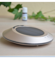 "Diffuser ultrasonic solar ""Solwheel"" : compact, wireless, and eco-friendly"