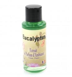 Extrait de parfum eucalyptus pour diffuseur, origine Grasse France.