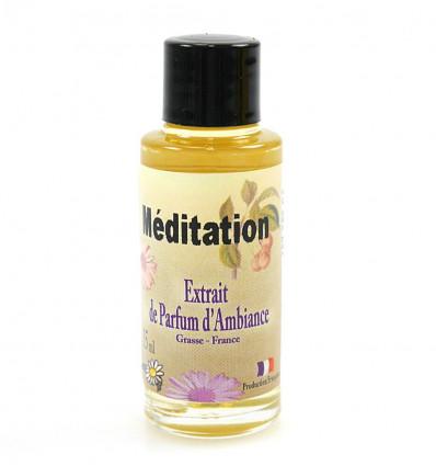 Extrait de parfum méditation à diffuser, yoga relaxation bien être.