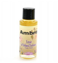 Perfume extract mood amber diffuser, comfort and well-being.