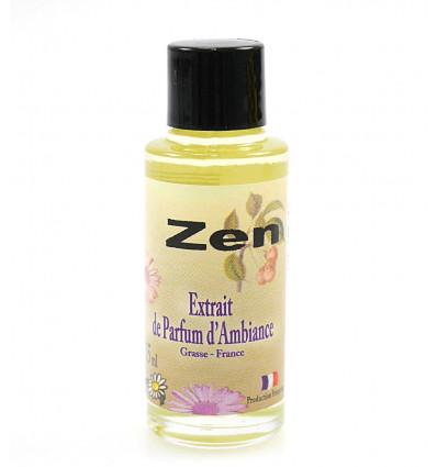 Extrait de parfum d'ambiance zen à diffuser, parfum de Grasse France.