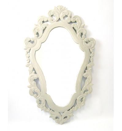 miroir baroque en bois gris d coration maison du monde. Black Bedroom Furniture Sets. Home Design Ideas