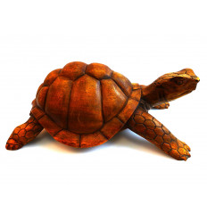 Great statue turtle earth giant Galapagos, carving wood purchase.