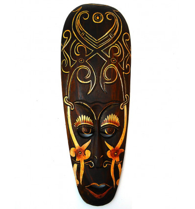 masque africain achat pas cher d coration murale ethnique africaine. Black Bedroom Furniture Sets. Home Design Ideas